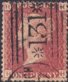 1864 1d Red SG43 Plate 101 'HH'
